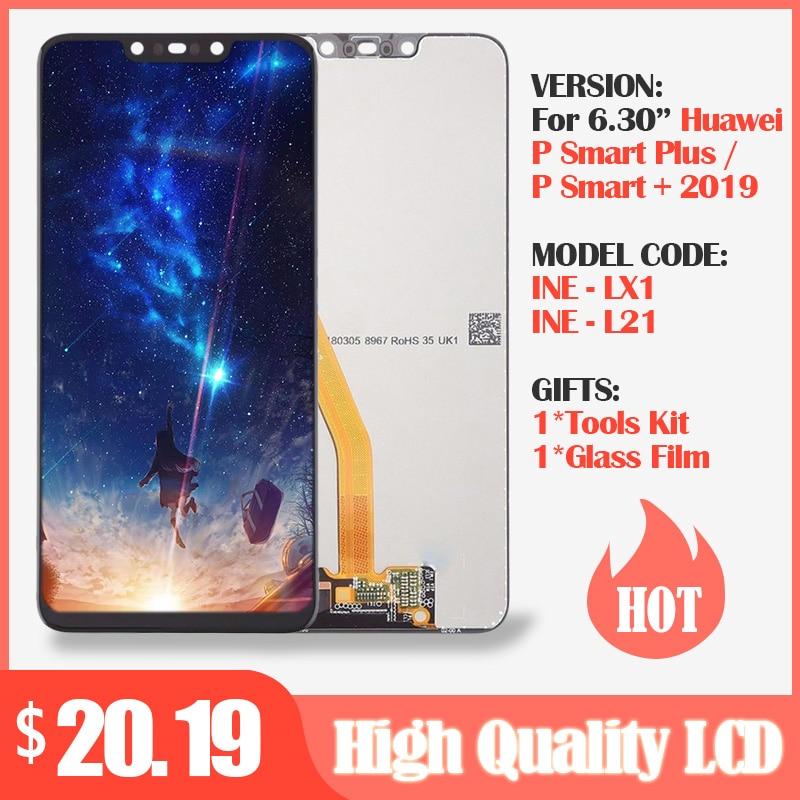 Pantalla Original para Huawei P Smart Plus pantalla LCD + montaje digitalizador táctil pantalla LCD para Huawei P Smart + pantalla