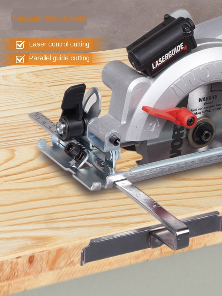 High-power Woodworking Saws Electric Circular Saw Cutting Machine Decoration Power Tools Wx427 Multi-function 45-degree enlarge