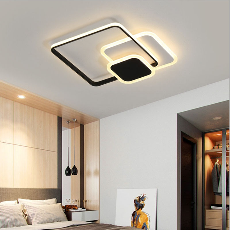 Modern and fashionable LED ceiling lamp bedroom living room study room interior ceiling lamp simple chandelier lighting enlarge