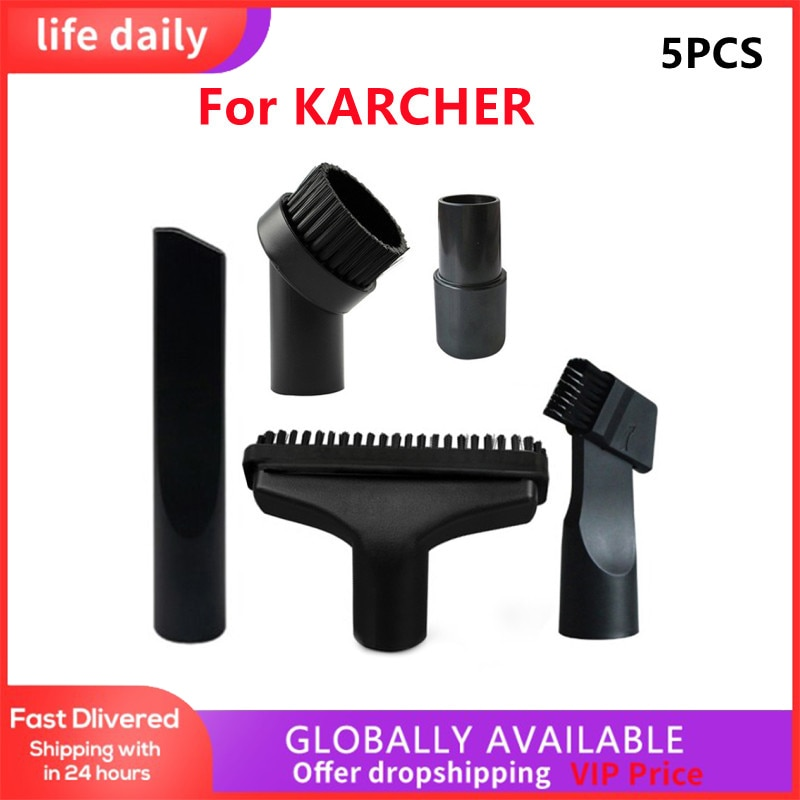 Dust Brush Kit For Karcher MV2 A2004 A2024 WD2 WD3 WD3P DS 5500 Household Cleaning Parts Replacement Tools