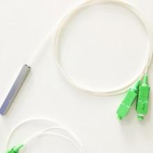 Free shipping SC APC Splitter Pigtail Plc-Fiber SM 1x2 1x4 1x8 1x16 Mini 10pcs/Lot