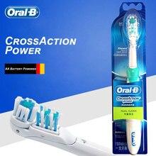 Oral B Elektrische Zahnbürste Kreuz Action Dual-Rotation & Vibration AA Batterie Powered 7200s Austauschbare Zahnbürste Kopf