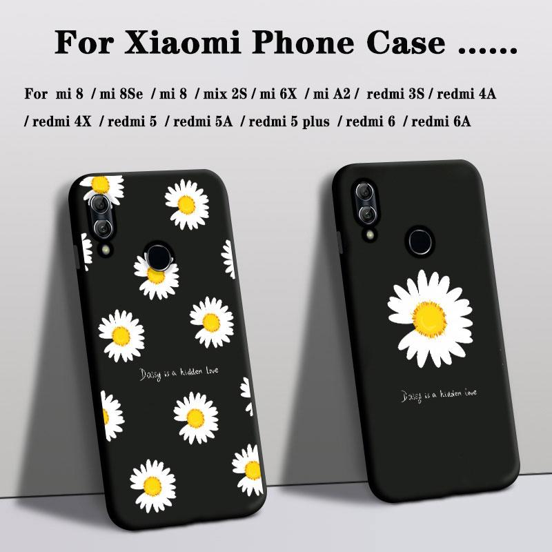 Чехол для телефона xiaomi mi play mix 2S mi8se A2, силиконовый чехол для mi 6X redmi 3s 4A 6 6A 4X 5 5a 5Plus, чехол с цветочным рисунком розы