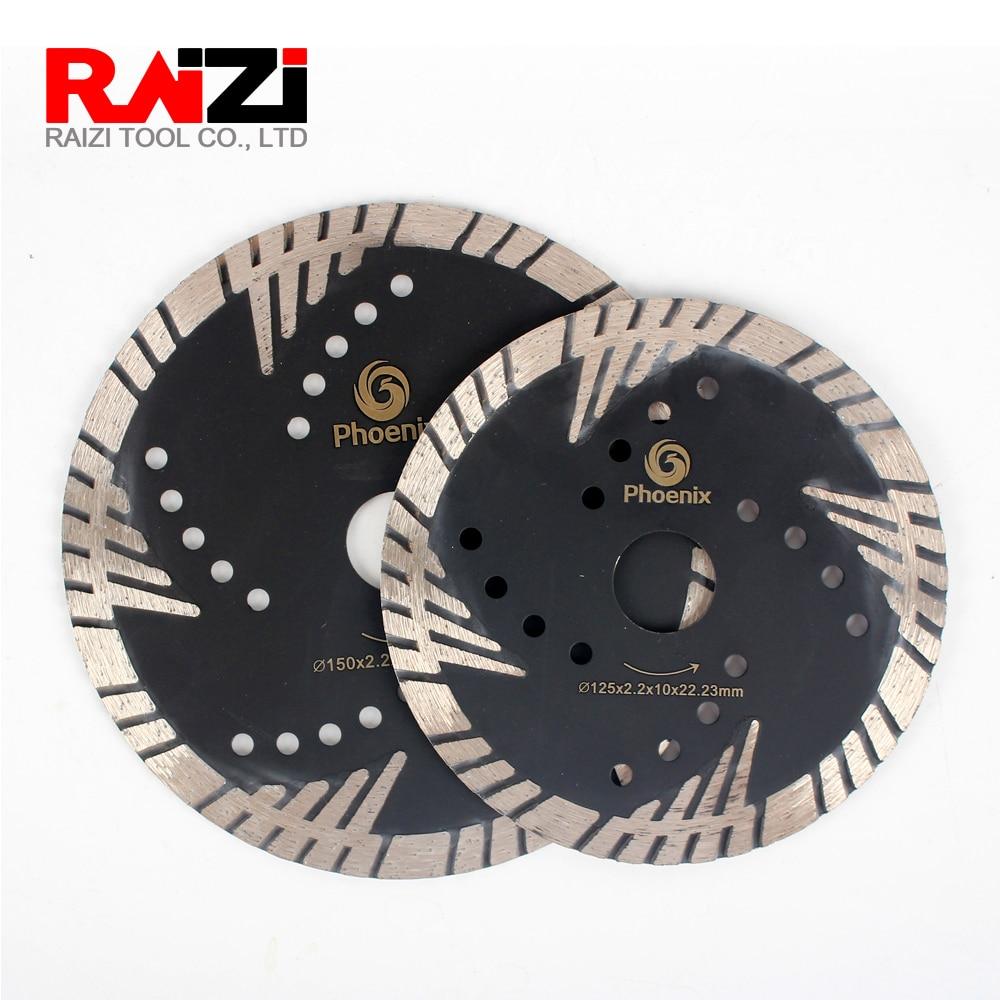 kinugawa billet turbo compressor wheel garrett gt1544 26 44 mm 6 6 blade 405 99011 406 Raizi Phoenix 125 mm/150 mm Extra Wing Side Protection Turbo Diamond Saw Blade for Granite Cutting Disc