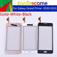 10pcslot for samsung galaxy grand prime duos g530 g530h g530f g5308 g531 g531h g531f touch screen panel sensor digitizer glass