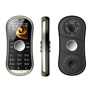 1,2 дюймовые мини-мобильные телефоны с двумя SIM-картами GSM Bluetooth FM-радио Ручной Спиннер маленький сотовый телефон с русской клавиатурой недоро...