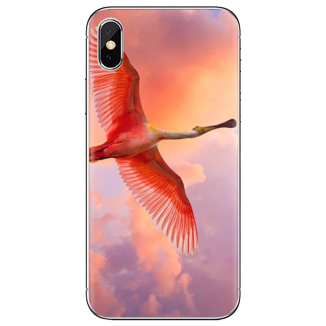 Caso Soft Phone Pink Flamingos Tropical Para Huawei Y6 Y5 2019 Para Xiaomi Redmi Nota 4 5 6 7 8 Pro Mi A1 A2 A3 6X 5X 7A
