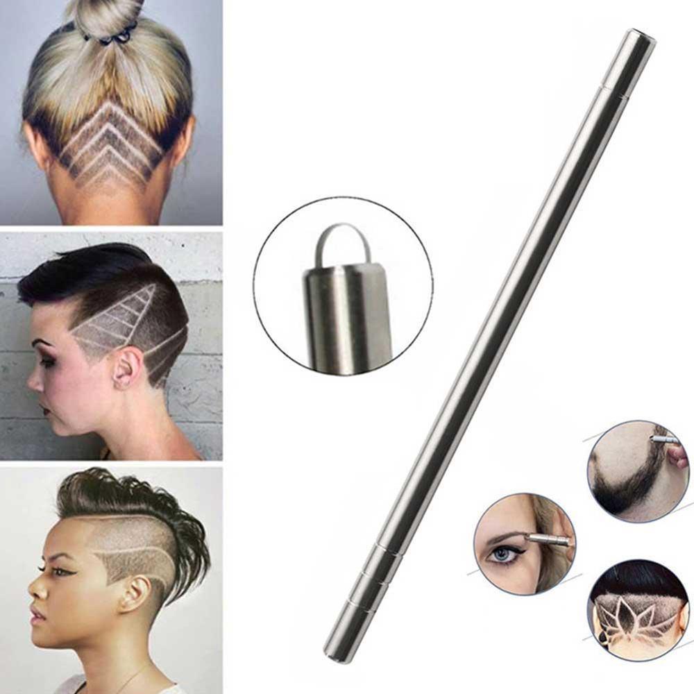 1pcs Hair Scissors Hair Trimmers Magic Engrave Beard Hair Shavings Eyebrows Carve Pen Shears Tattoo Barber Hairdressing Scissors