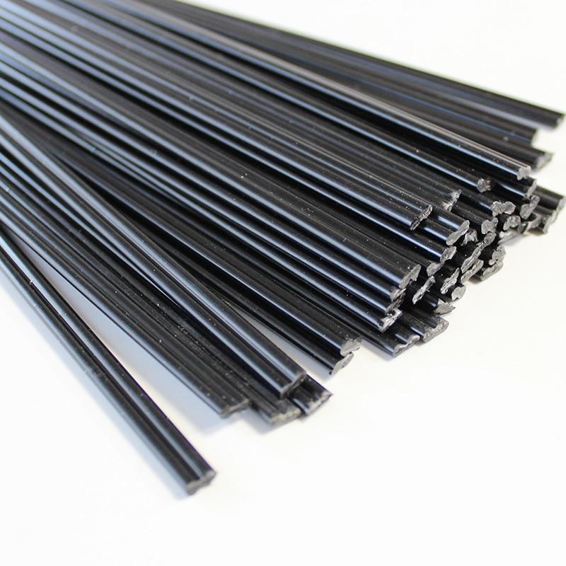 50Pcs Plastic Welding Rods Car Bumper Repair PP Plastic Electrodes for Welder Gun Sticks Kit Hand Tools for Hot Air Gun Welding