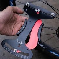 Aluminum Alloy Spoke Tension Meter Bicycle Wheel Calibration Universal Tool Portable Bicycle Repair Tools Spoke Tension Meter