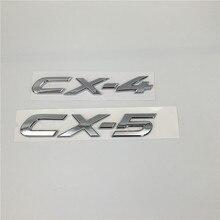 Auto Zubehör Für Mazda CX4 CX5 CX-4 CX-5 Hinten Stamm Emblem Heckklappe Brief Logo Abzeichen Typenschild Auto Aufkleber
