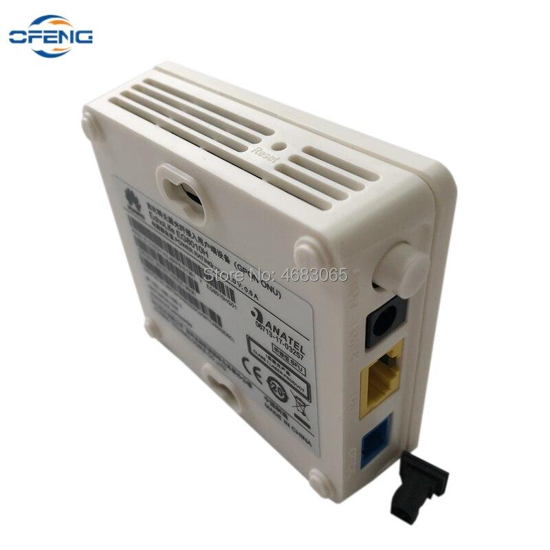 10Pcs Huawei EchoLife EG8010H GPON ONU ONT 1GE Port Fiber Optical Modem, Same function as HG8010H HG8310M Router, No box