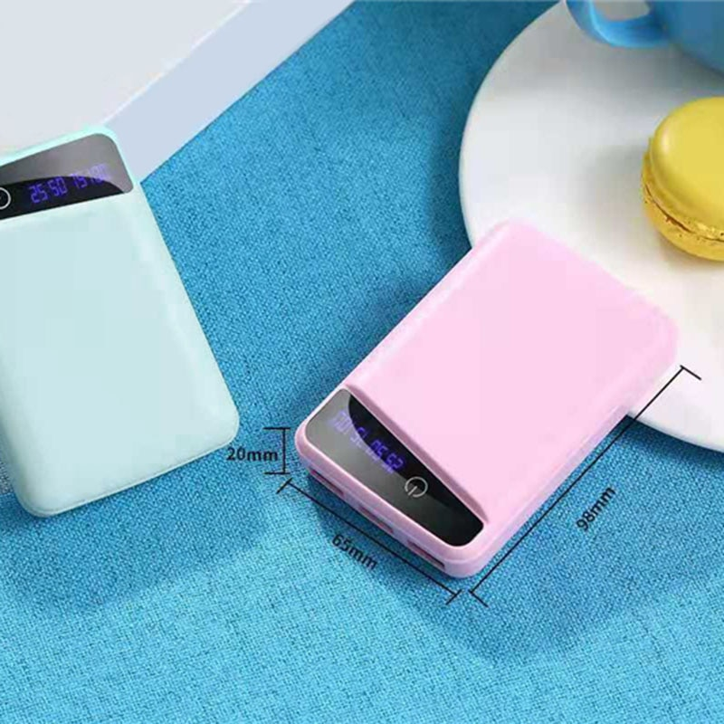 3 Pcs 18650 Battery Charger Cover Power Bank Case DIY Box 3 USB Ports C66