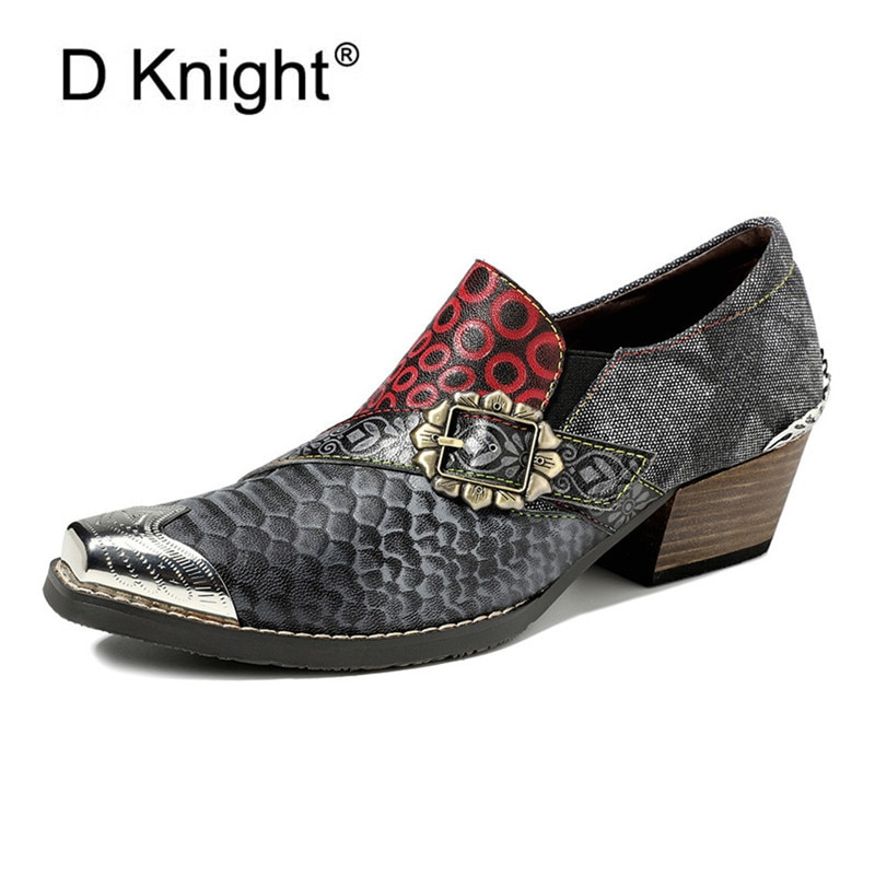 Zapatos de Mujer de diseñador con hebilla de lujo, zapatos de trabajo de dama de honor de cuero genuino sin cordones para oficina, zapatos de Mujer, zapatos de tacón alto informales