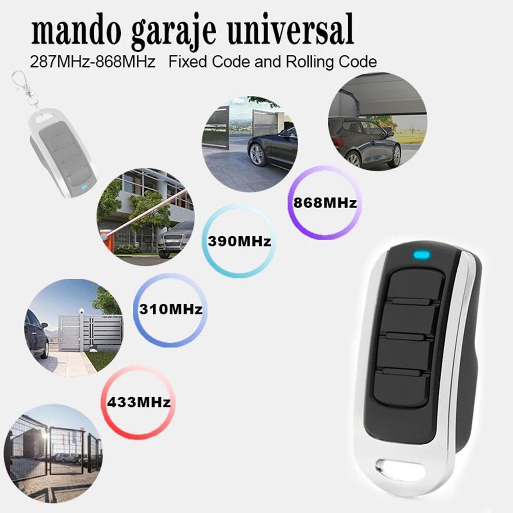 Пульт дистанционного управления для гаражных дверей, Открыватель ворот, 2021 МГц, кодовое управление s, многочастотный для гаража, 315 МГц, непо...