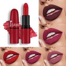 12pcs Lipstick Velvety Set Long Lasting Nonstick Cup Not Fade Makeup Cosmetics Kit For Girl Women Li