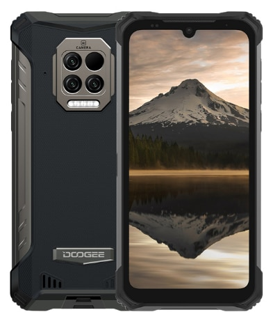 DOOGEE S86 Pro IP68 Водонепроницаемый прочный смартфон 8 ГБ + 128 ГБ ЛОБНЫЙ термометр 8500 мА/ч, 6,1 дюйм Android 10 NFC 4 аппарат не привязан к оператору сотовой связи...
