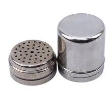 Cruet Soy Sauce Bottle Magnetic Spice Tins Kitchen Cooking Tool Stainless Steel Seasoning Jar Pepper Shaker Bottle
