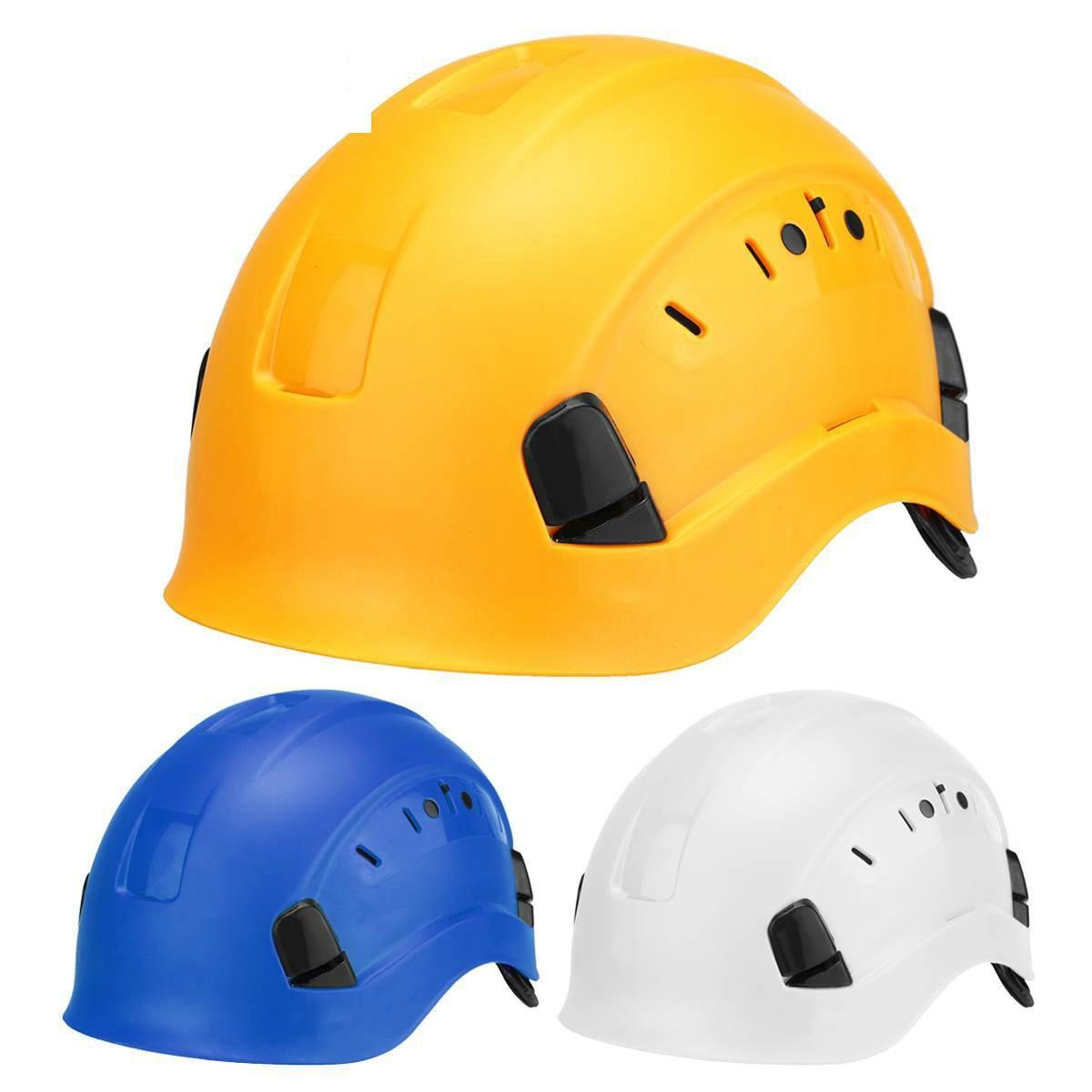 ABS Safety Helmet Construction Climbing Steeplejack Worker Protective Helmet Hard Hat Cap Outdoor Workplace Safety Supplies
