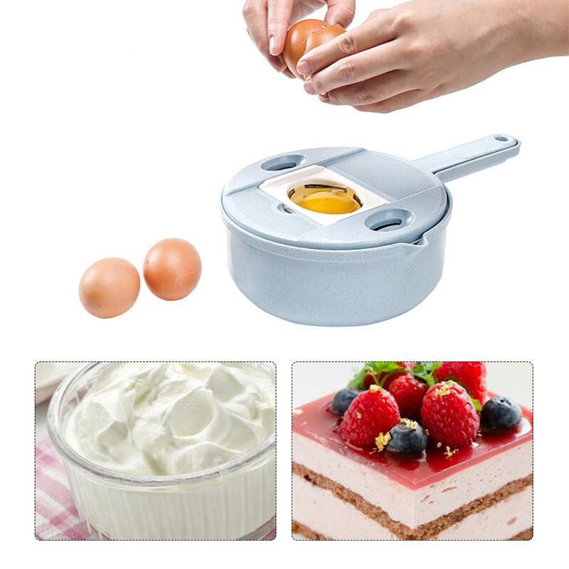 Rebanadores de frutas y verduras cortador de frutas Manual de paja de trigo, patata, zanahoria, cebolla, Rallador con separador de huevos, colador zh1