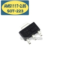 10Pcs AMS1117-2.85 Sot-223 AMS1117-2.8 AMS1117 2.85V SOT223 Nieuwe Originele