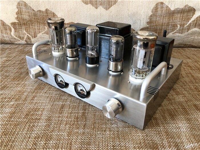 ترقية صغيرة 300B 6J8P المتقشف F1 FU50 5U4C مُضخّم صوت الصوت مكبر كهربائي الصوت DIY كيت مع أداة رئيس عرض