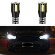 2x Canbus T10 W5W 168 LED Car Interior Light Bulb For Lada Granta Vaz Kalina 2 Priora Niva Samara 2110 Largus 2109 2107 2106 4X4