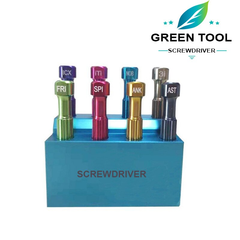 Dental Implant tools Screwdriver for Implant attachment Micro Screw Driver Dental Orthodontic Matching implant Tool