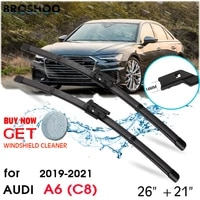 car wiper blade front window windscreen windshield wipers blades push button auto accessories for audi a6 c8 2621 2019 2021