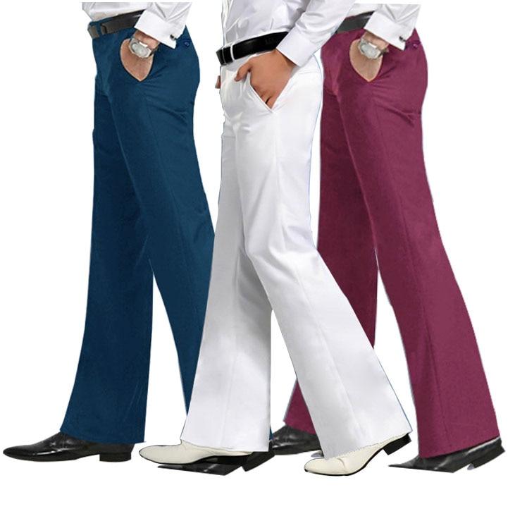 بنطلون رجالي واسع ، ملابس رسمية ، ملابس رقص بيضاء ، مقاس 28-30 31 32 33 34 36 37 ، ربيع 2020