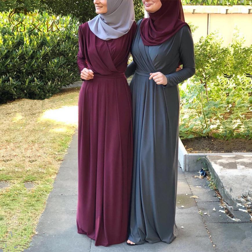 Ramadan Eid Mubarak Abaya Turkish Hijab Muslim Dress Kaftan Dubai Dresses Islam Clothing Abayas For Women Vestidos Ropa Mujer