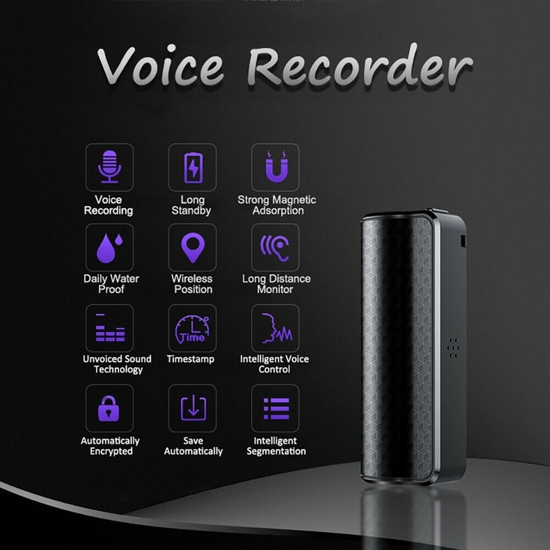 Mp3 Player  Audio Recorder Mini Audio Recorder Digital Recorder Q70 Recorder New MP3 Magnetic Recording Device Voice Activated enlarge
