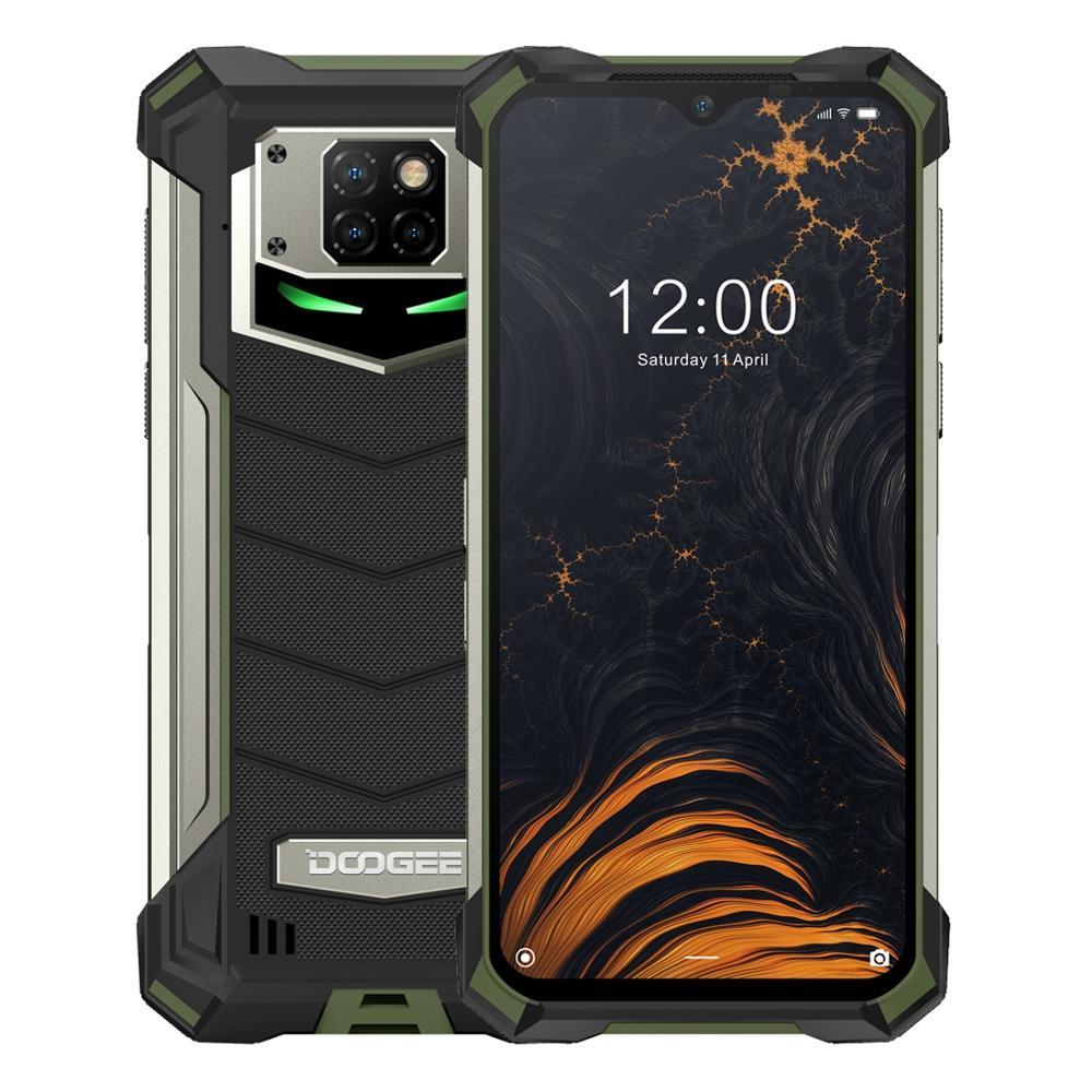 Смартфон DOOGEE S88 Pro на Android 10, 8-ядерный процессор Helio P70, экран 128 дюйма, 6 ГБ + 6,3 ГБ