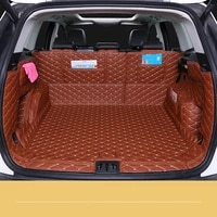 custom full covered waterproof durable non slip car boot mats trunk carpets for 2013 2020 year ford kuga