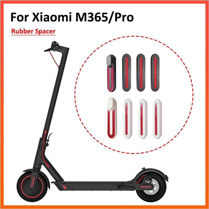 Caso de Shell con pegatina calcomanías cubos de rueda tapa protectora para Xiaomi Mijia M365 M365 Pro Scooter Eléctrico