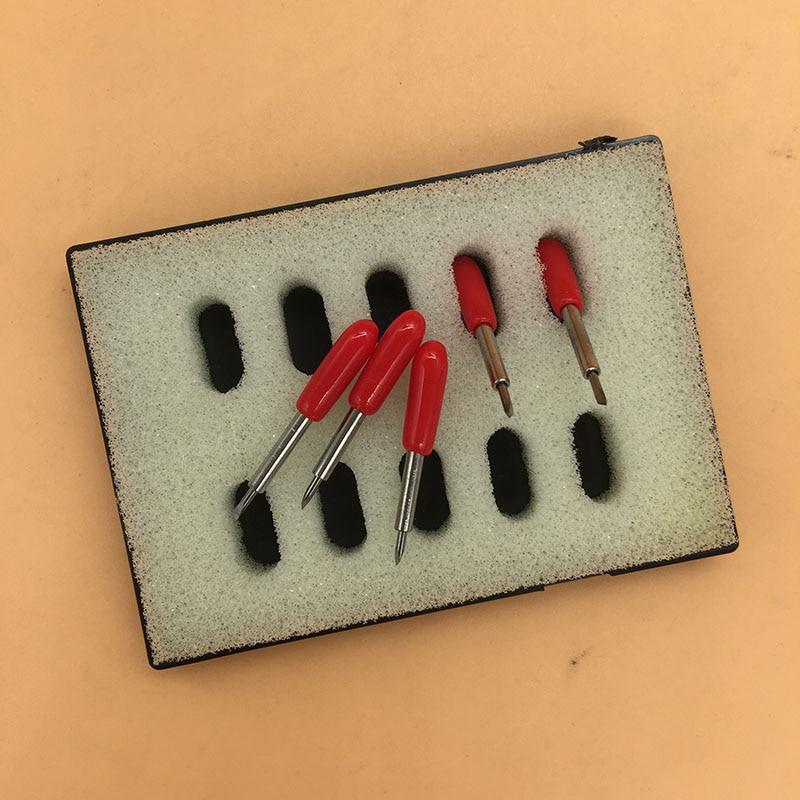 10 pièces 30 45 60 degrés Roland lame couteau pour Roland coupe imprimante vinyle silhouette Cutter lame couteaux couteau