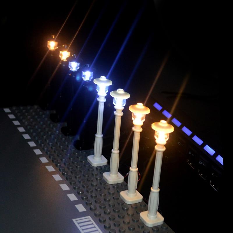 Городской уличный мини-модельный светильник светодиодный, с 7 портами, светодиодный USB светильник, излучающий классический кирпич, совмести...