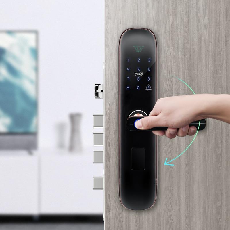 One-Hold Household Theft Proof Door Semiconductor Identification Code Lock Smart Lock OEM Fingerprint Lock