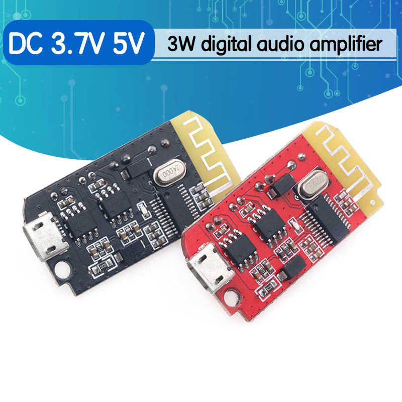 Micro Usb Dc 3 7 V 5v 3w Digital Placa De Amplificador De Audio Doble Dual Placa Diy Altavoz Bluetooth Modificación Música De Sonido Módulo Accesorios Y Piezas De Reemplazo Aliexpress