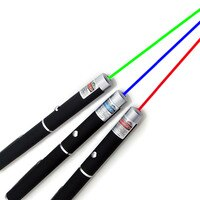 Hot Selling Powerful Green/Red /Blue Laser Pointer Pen Beam Light 5mW Power Laser For Office Teaching