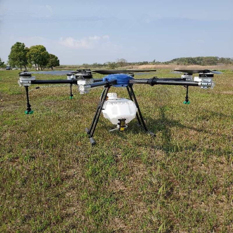 SA630 30L drone de pulvérisation agricole 1850mm 6 axes étanche pliant cadre hexacopter 30KG pièces de pulvérisation X9 puissance
