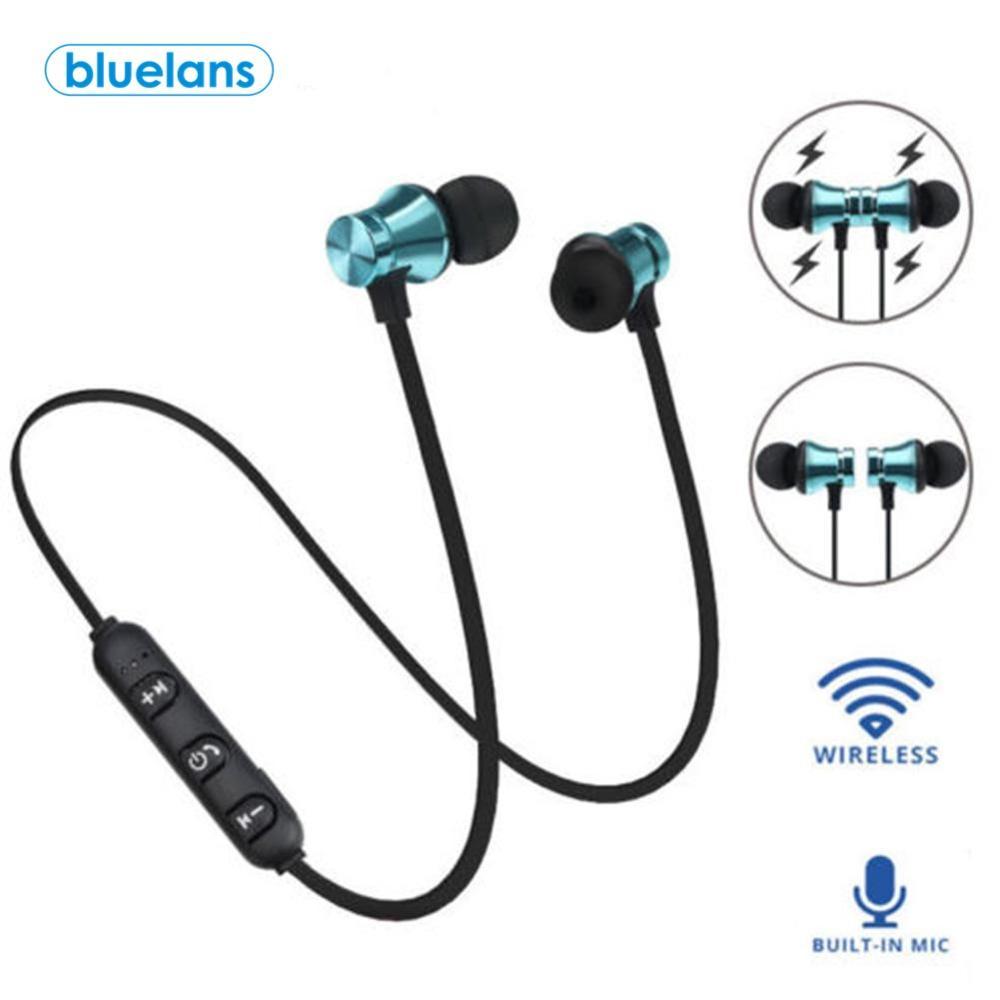 Fone de ouvido sem fio esportivo, headset estéreo com bluetooth 4.2 para iphone, xiaomi, huawei honor, samsung redmi