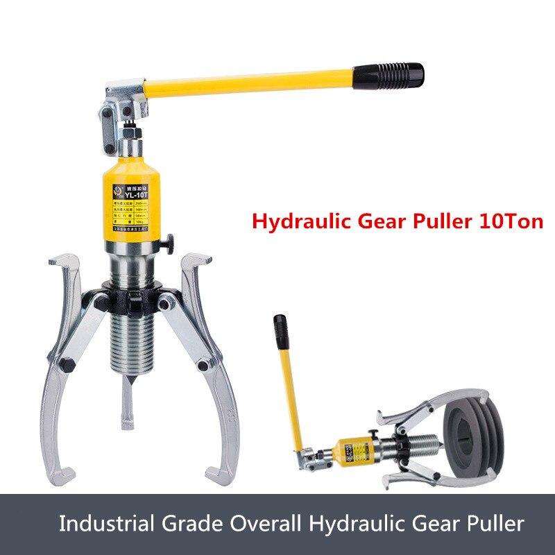 Wheel Bear Puller Hydraulic Gear Puller 10 Ton Hydraulic Bearing Puller Hydraulic Puller