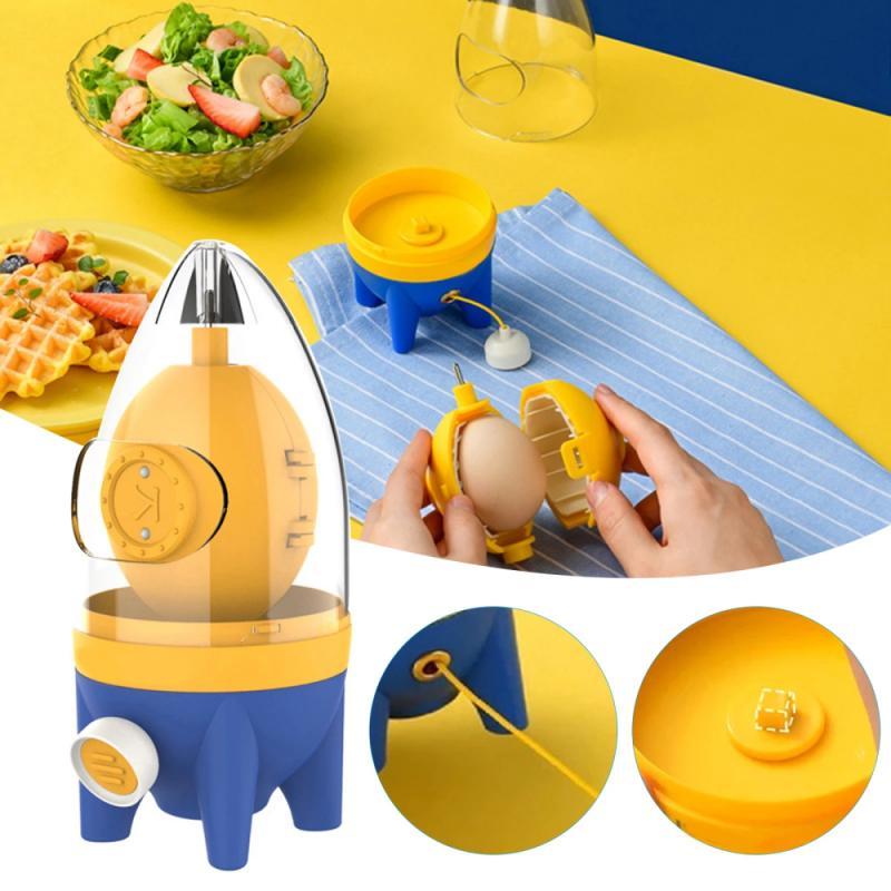 خلاط هاند شيكر للبيض مصنوع من السيليكون يصلح لصفار البيض والبياض أداة يدوية لصانع البيض مناسب للأطفال
