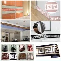 Funlife     autocollant mural 10x200cm  lignes de taille  pour bordure murale  etanche  pour salon  salle de bains  decoration de la maison
