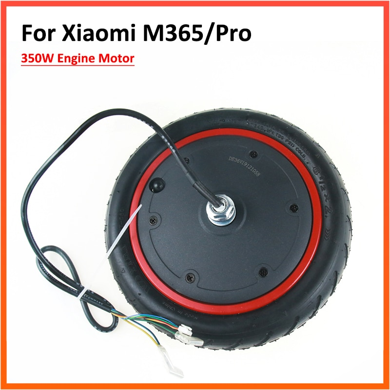 350W Engine Motor For Xiaomi M365 / 1S/ Pro Electric Scooter 8.5 Inch Wheel Replacement Parts