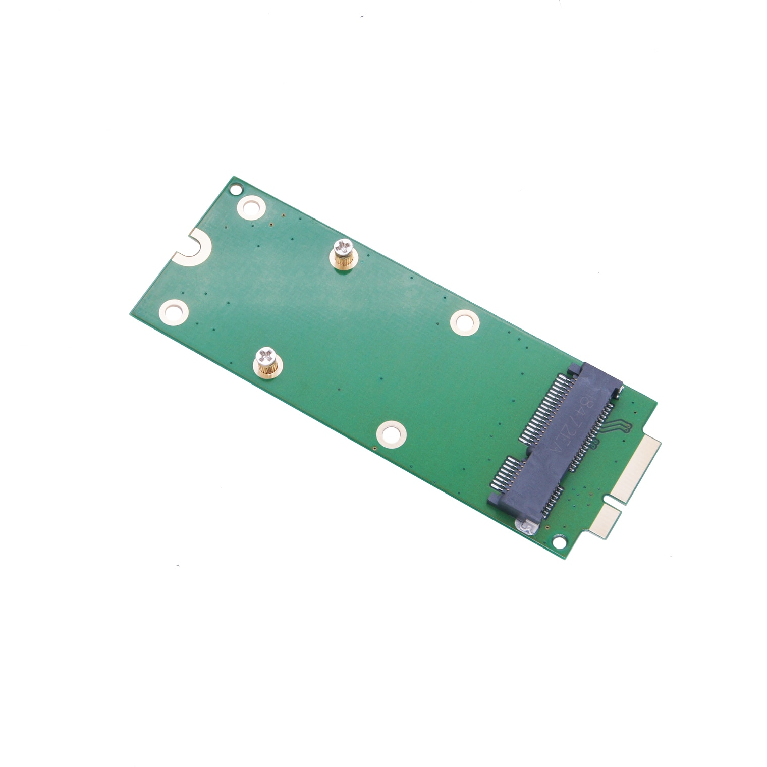pci e to sata3 0 card third generation pcie sata3 expansion card ssd solid state drive system startup Nimi PCI-E MSATA 2012 MacBook Retina Solid State Drive SSD adapter card