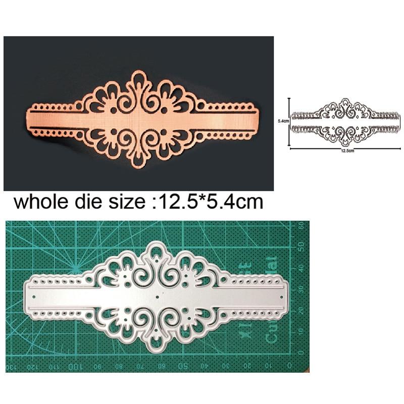 Металлические пресс-формы для рукоделия, форма для вырезания, кружевная крышка, рамка, скрапбукинг, штампы для бумаги, нож для рукоделия, лез...