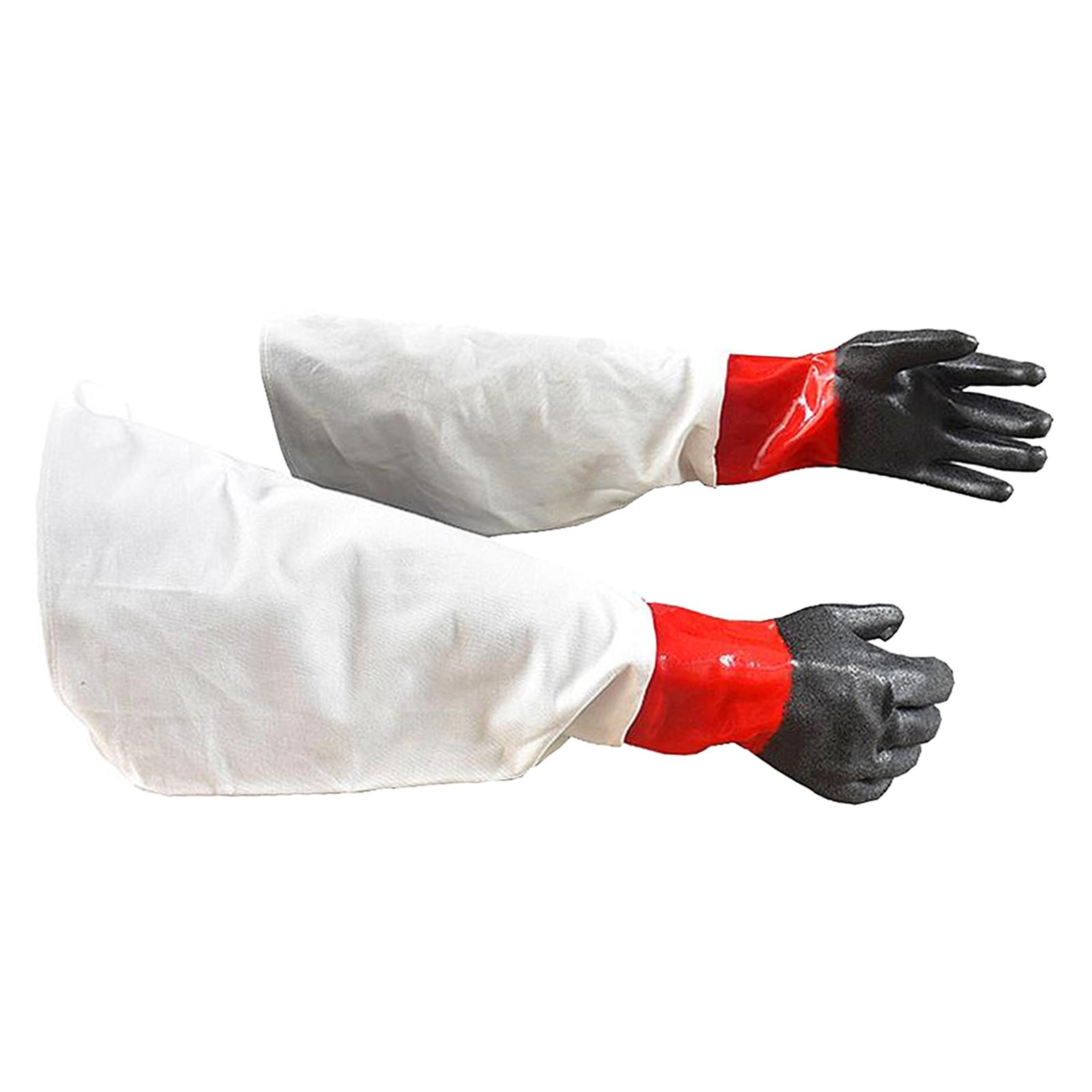 Сверхмощные пескоструйные перчатки, рабочие, чистящие части шкафов, промышленные перчатки