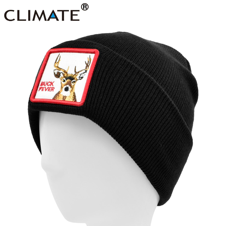 Gorro de hombre con diseño de Animal, gorro de invierno cálido, gorro gris de invierno para hombre con Logo de Animal